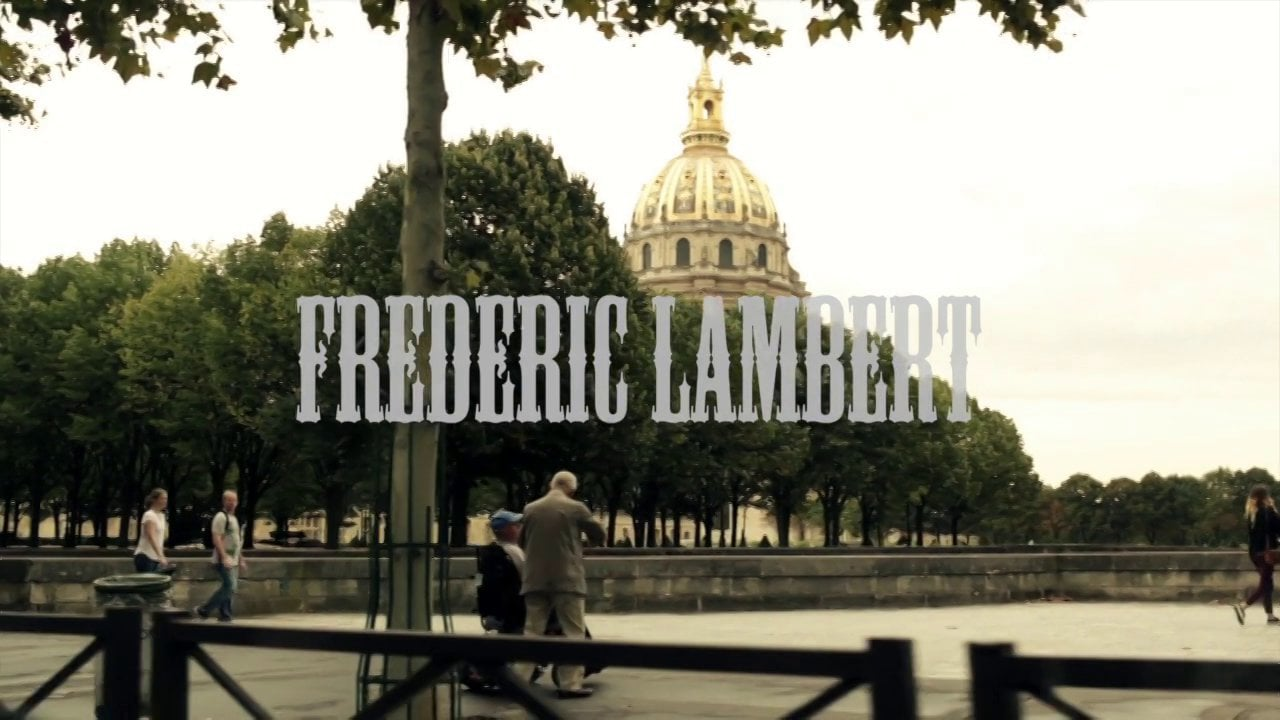 Frédéric Lambert à Paris By Laurent Meurice